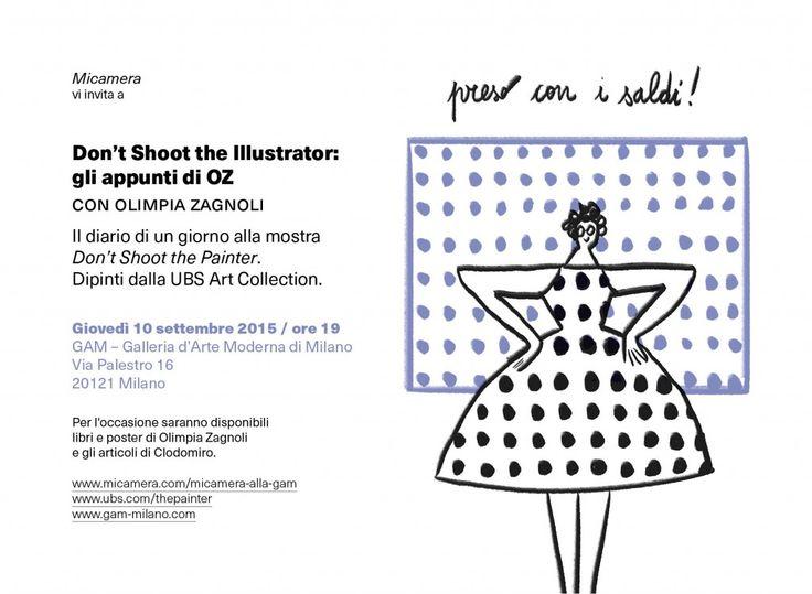 Don't Shoot the Illustrator | Micamera.it - Associazione Culturale