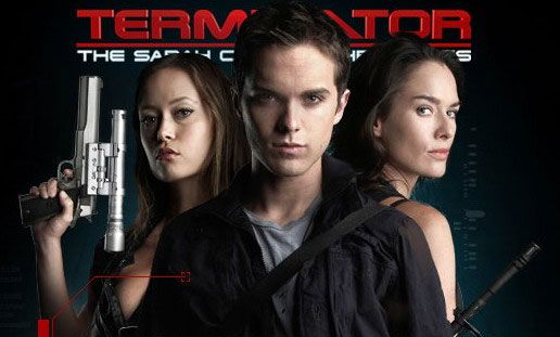 Terminator the Sarah Connor Chronicles - Thomas Dekker = HOT, Summer Glau = HOT! This show got cancelled as they could only renew 1 show and they had to choose Doll House or This... I think they made the wrong decision!