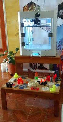 Voxel ARTC Bucaramanga: Nueva Impresora 3D en Voxel CyT