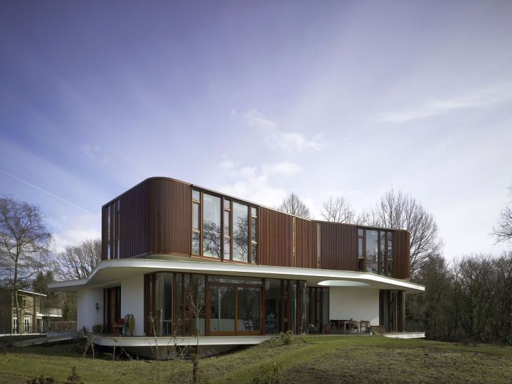 Curvacious Futuristic House Plans Futuristic Home Modern House Plan Architecture House