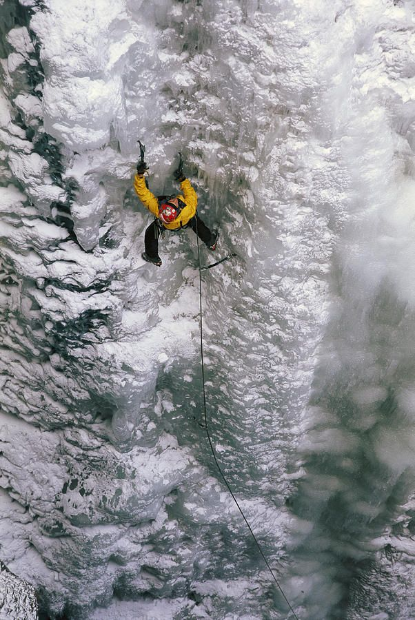 ✮ Ice climbing in the South Fork Valley - Wyoming (fineartmamerica.com)