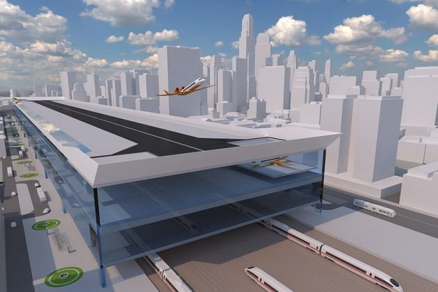 Σχεδιάστηκε το αστικό αεροδρόμιο του μέλλοντος;