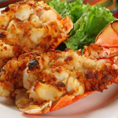 Ma's Best Stuffed Lobster Tails For Christmas Eve