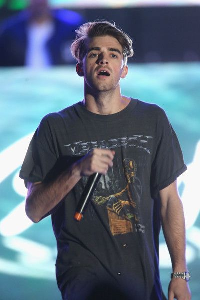Andrew Taggart Photos Photos - DJ Andrew Taggart of The Chainsmokers performs on stage at KIIS FM's Wango Tango 2016 at StubHub Center on May 14, 2016 in Carson, California. - 102.7 KIIS FM's 2016 Wango Tango - Show