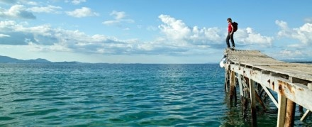 Greece, Krouzeri Beach. Wandelen Griekenland: Corfu Trail | oppad.nl