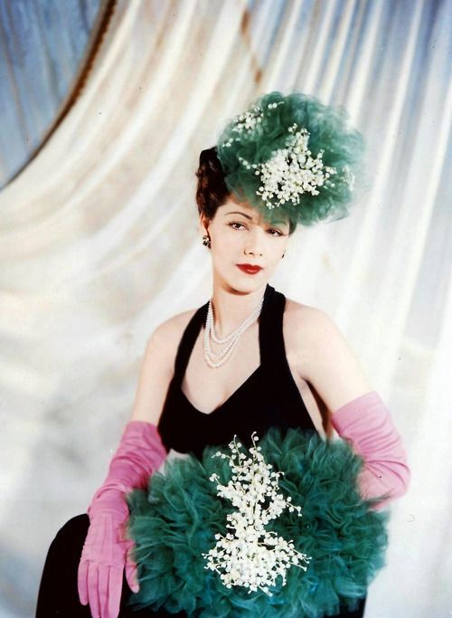 Maria Montez and a lot of tulle.