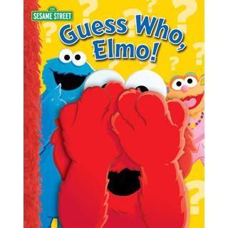 Sesame Street Guess Who Elmo Book