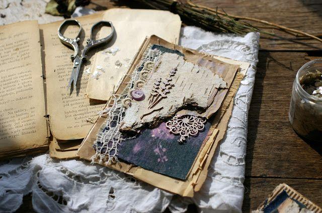 "Handmade by Smilla: Эко-настроение) О курсе ""Eco-Номе-Handmade"", мои открыточки и фотографии"