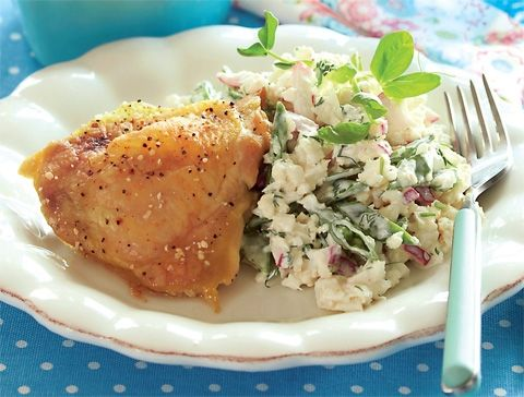 Kylling med blomkålssalat | Slankeklubben.dk