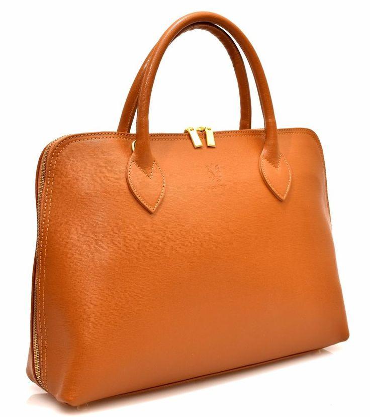 HAND BAG 11 CUOIO Pelle Borsa Mano Tracolla Shopping Donna Primavera Estate 2017
