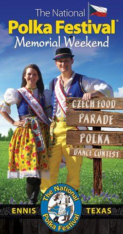 National Polka Festival, Ennis, Texas #DFWandBeyond