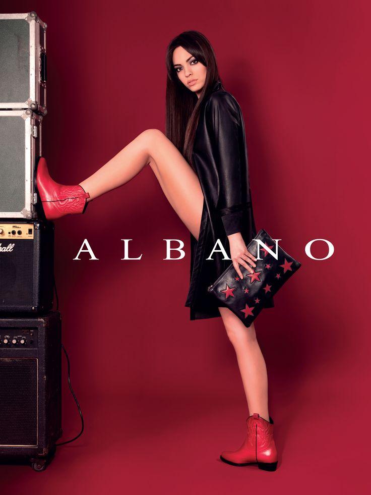 Rock e Glamour! Parole d'ordine della nuova collezione Autunno/Inverno firmata Albano!