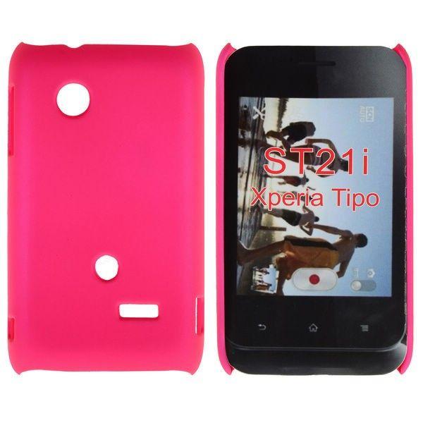 Hard Shell (Hot Rosa) Sony Xperia Tipo Deksel