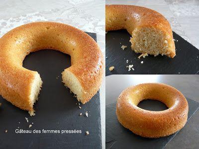 """100%Gourmande       .      : Le fameux gâteau des """" femmes pressées """" ..."""