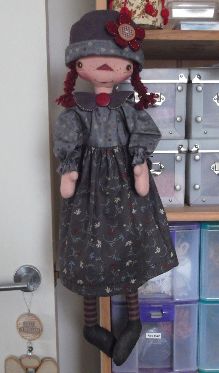 185 best country dolls images on Pinterest | Creative crafts, Fabric ...