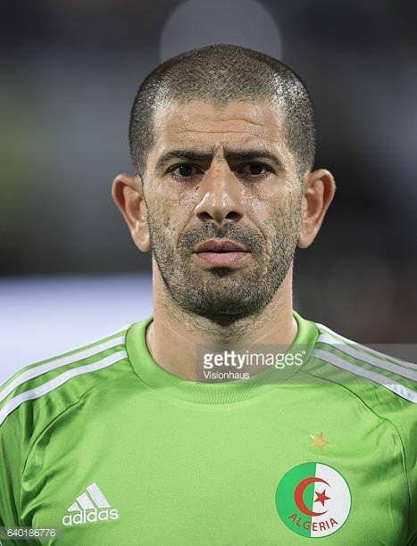 MEFTAH of Algeria during the Group B match between Senegal and Algeria at Stade Franceville on January 23 2017 in Franceville Gabon