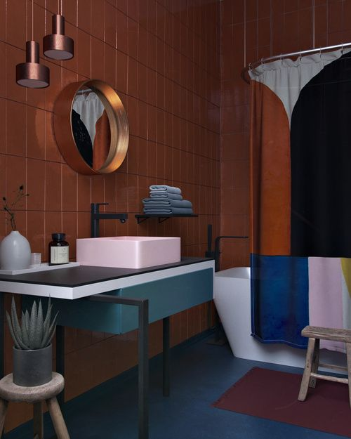 Great colour combinations in bathroom