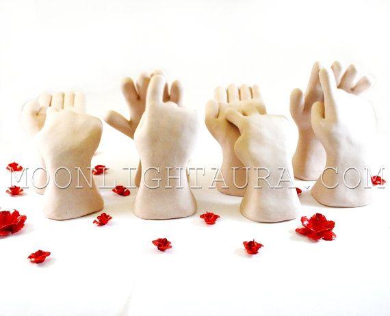 Love in Auslan or Australian Sign Language by MoonlightAura, $80.00