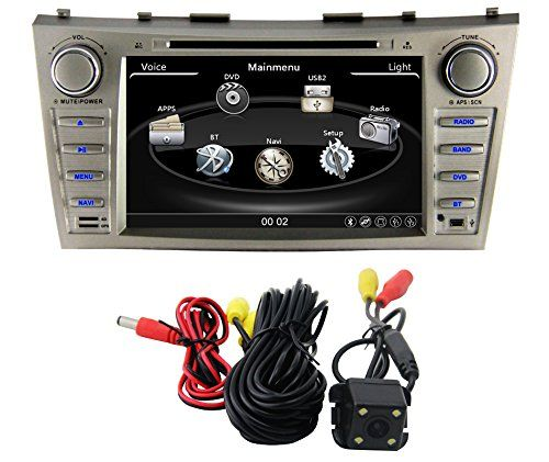 Special Offers - Zestech 8 inch for Toyota Camry/Aurion 2007 2008 2009 2010 2011 In Dash HD Touch Screen Car DVD Player GPS Navigation Stereo Support Bluetooth/SD/USB/Ipod/FM/AM Radio/DVR/3G/AV-IN/1080P with North and South America Map and free Reverse Backup Rear View Camera as Gift - In stock & Free Shipping. You can save more money! Check It (July 12 2016 at 08:45PM)…