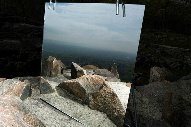 Photos Using Mirrors | Creative Landscape Photos Shot Using a Mirror and Off-Camera Lighting