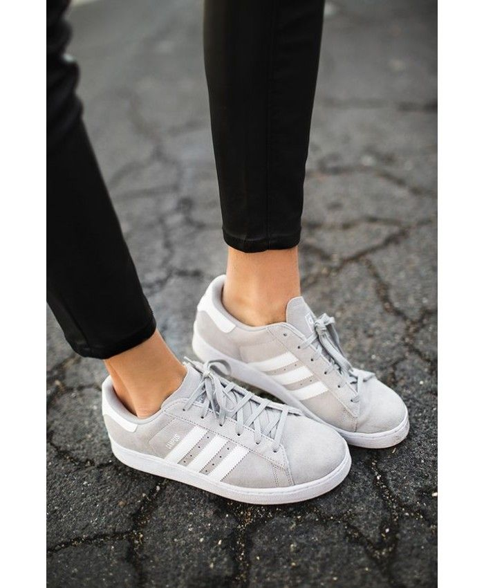 Adidas Gazelle Womens Shoes In Grey White  e9c638656e3