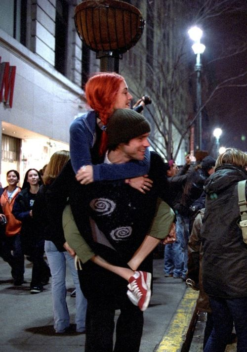 Winslet & Carrey, Eternal Sunshine of the Spotless Mind.
