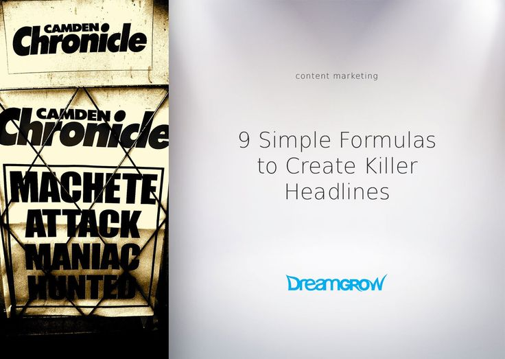 17 easy tricks how to write catchy titles and headlines