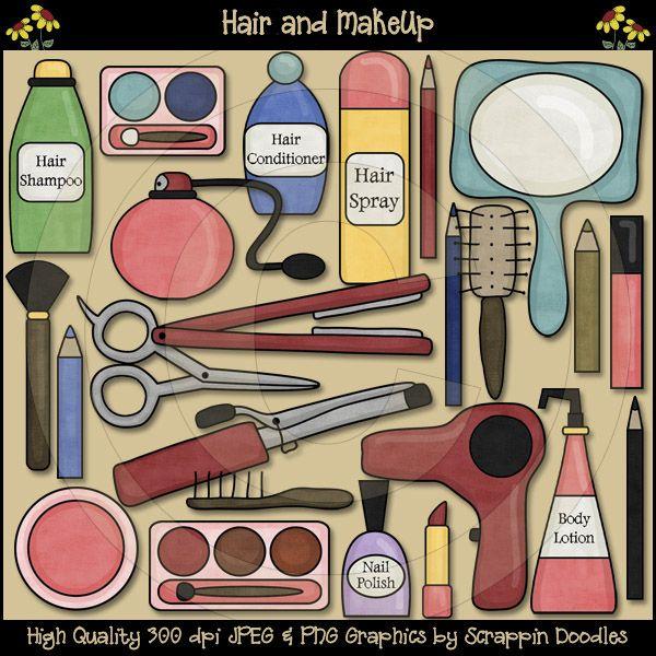 hair supplies clipart - photo #16