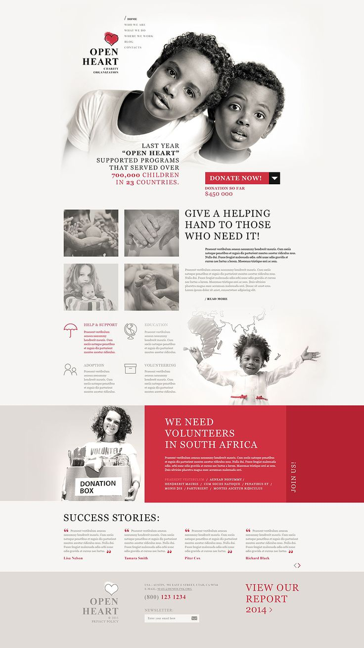 Best Charity WordPress Themes #design
