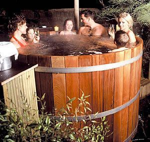 best 25 wood fired hot tub diy ideas on pinterest how. Black Bedroom Furniture Sets. Home Design Ideas