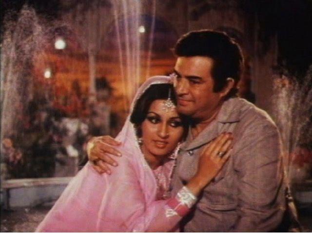 Sanjeev Kumar and Reena Roy