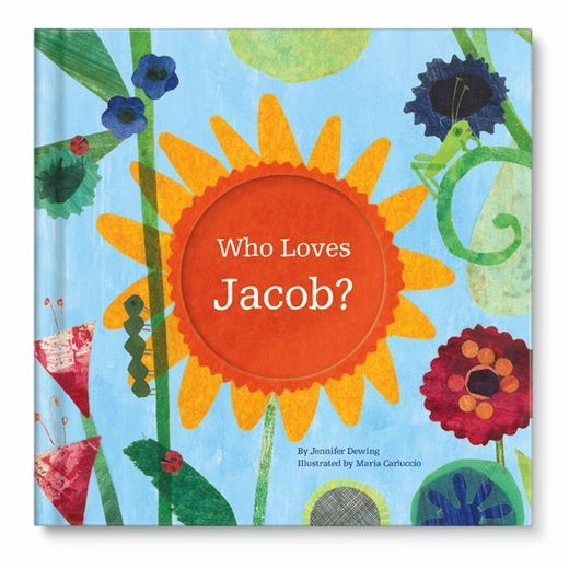 Personalized Children's Book.. Perfect new baby book with family and relatives names in it!