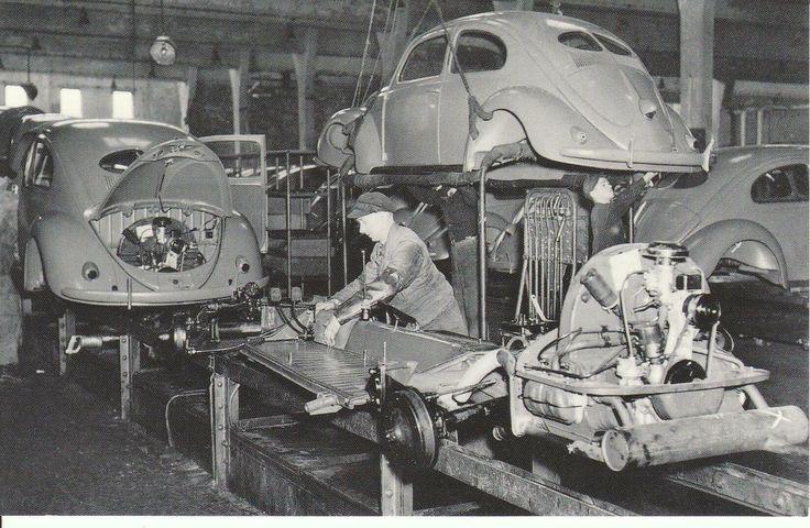 1948 VOLKSWAGEN ASSEMBLY LINE, WOLFSBURG