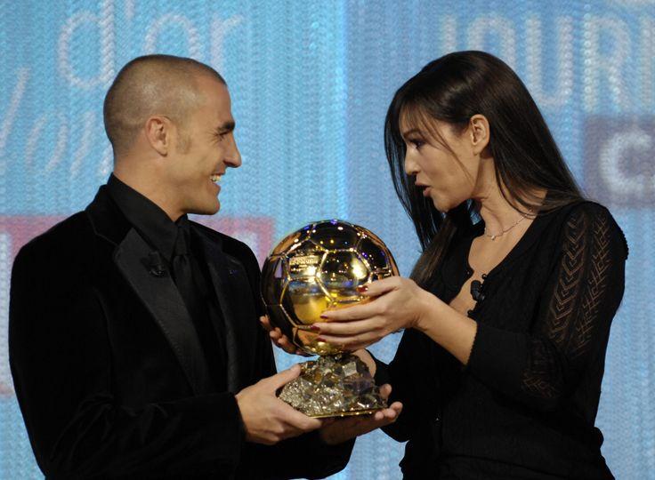 Fabio, the Golden Ball and Monica Bellucci