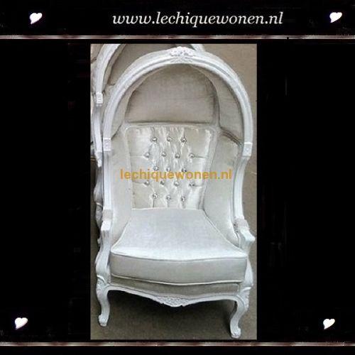 Barok kinder fauteuil little napoleon wit | Le Chique Wonen