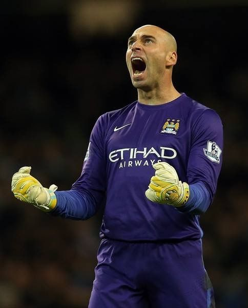 Willy Caballero is a City legend! ⚽️