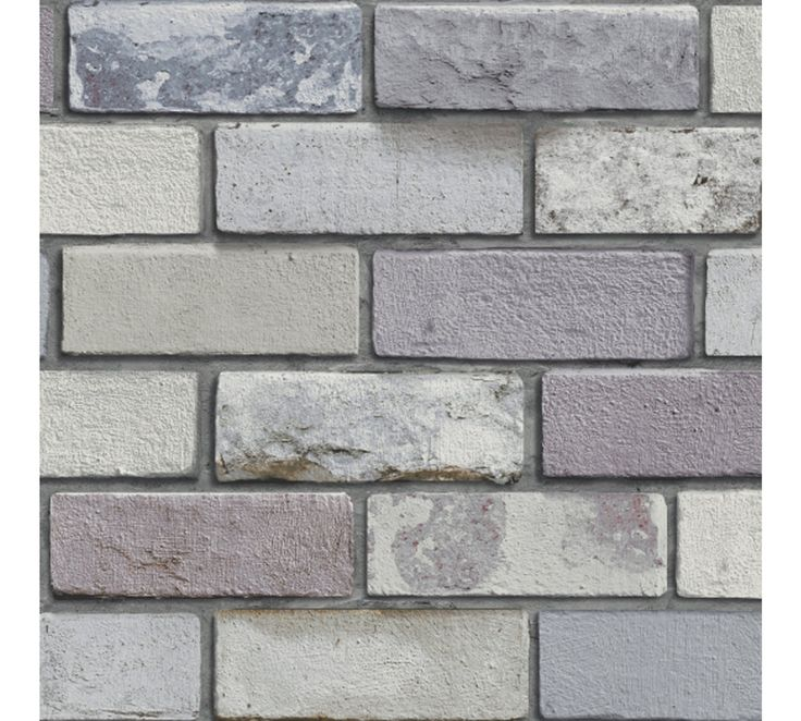 Buy Arthouse Industrial Brick Wallpaper - Grey at Argos.co.uk, visit Argos.co.uk to shop online for Wallpaper, Wallpaper, painting and decorating, Home improvements, Home and garden