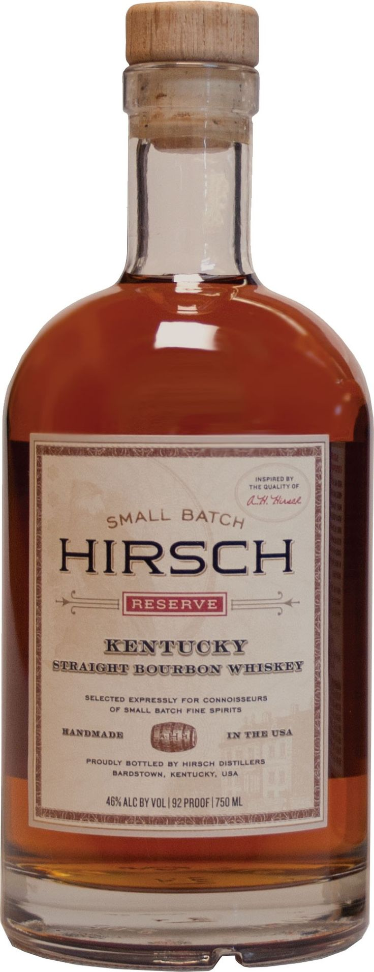 Aged for over four years, this bourbon won the Double Gold Medal at The Fifty Best Tasting Competition in 2012.