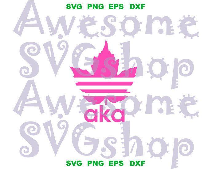Adidas Aka Ivy Leaf Sign Alpha Kappa Alpha Svg Alpha Kappa Alpha Sorority Shirt Gifts Printable Downl Printable Gift Ivy Leaf Alpha Kappa Alpha Sorority Shirts