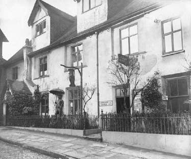 Friary, Friar Yard -frontage c.1920