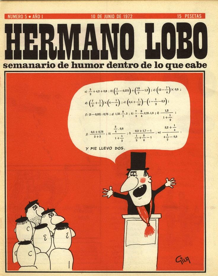 Hermano Lobo, Número 5 · Año I  (10 de Junio de 1972)
