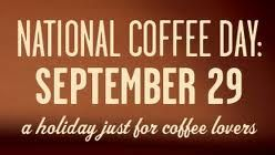 September 29 is National Coffee Day
