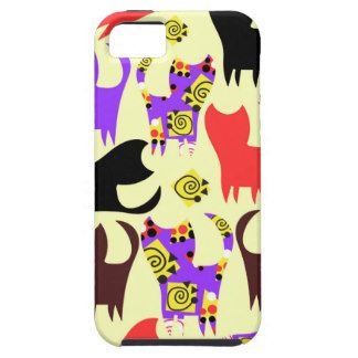 Cats pattern iPhone 5 covers