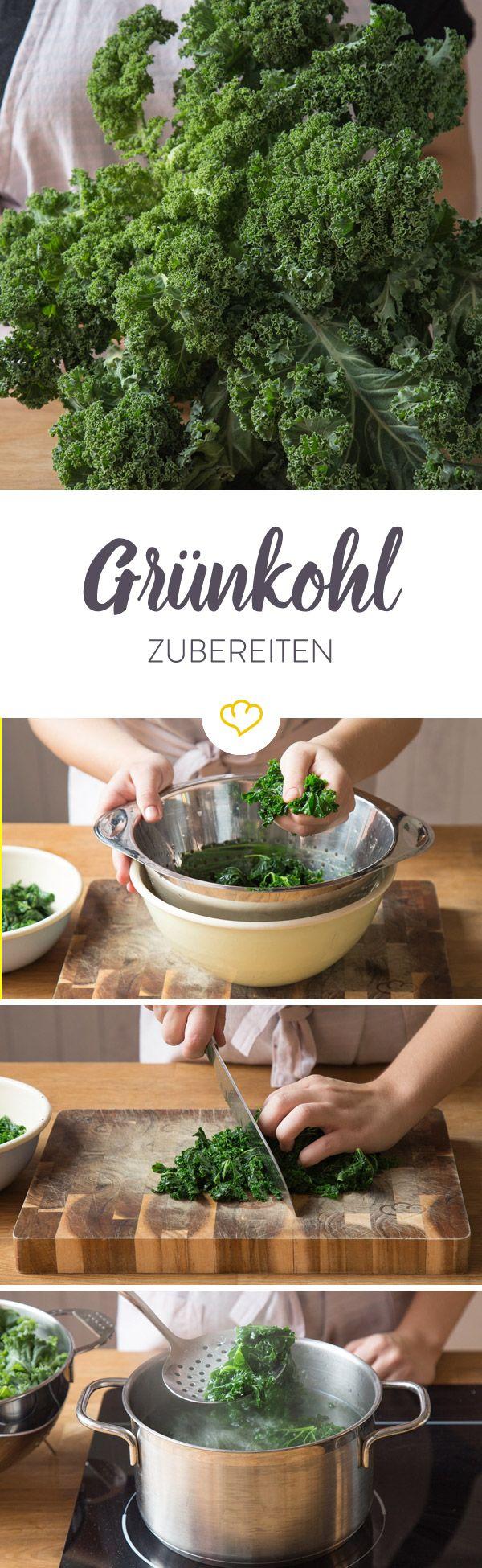 Welches Fleisch passt zum deftigen Grünkohl? Kann man den Krauskopf auch roh essen? Und wie verarbeitet man ihn eigentlich am besten? Hier erfährst du es.