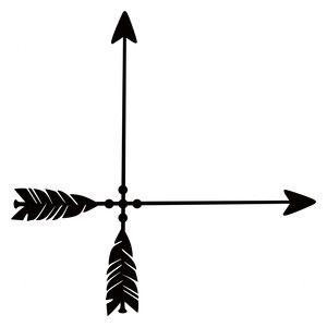Silhouette Design Store: arrow corner