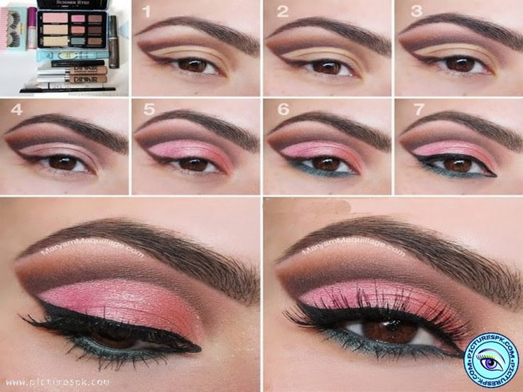 Eye Makeup Tutorial Picture