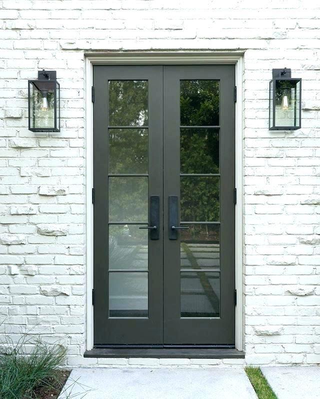 Entry Door Hardware Modern French Doors