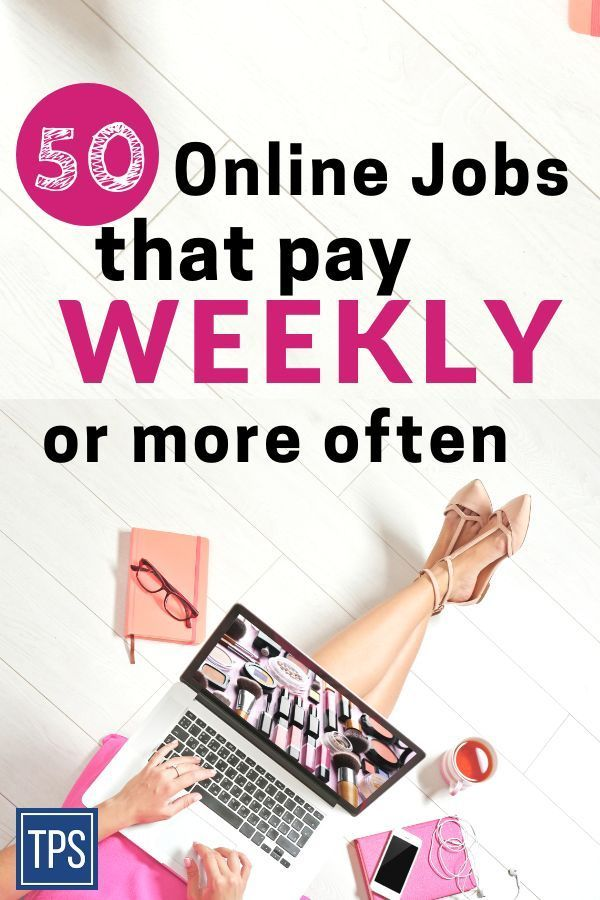 50 Online Jobs That Pay Weekly No One Knew (High-Paying) – School/College/Future