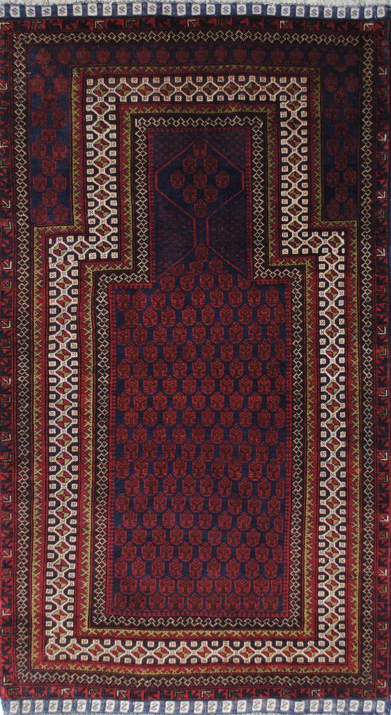 Handmade Woolen Carpet BELUTCH 0,91x 1,48 cm | ioakeimidis