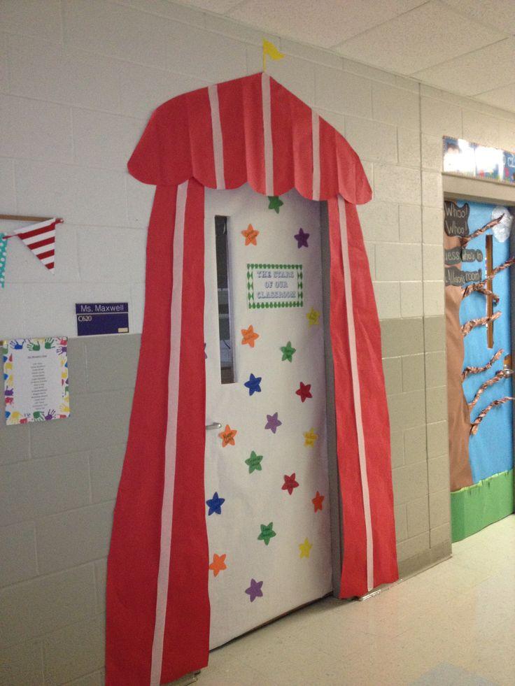 Circus Theme-outside a classroom door